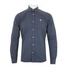 Henri Lloyd Mens Filbeck Regular Shirt (Navy)