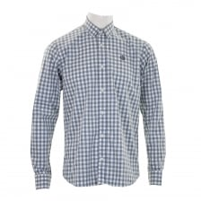 Henri Lloyd Mens Kelton Check Shirt (Blue)