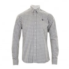 Henri Lloyd Mens Kelton Check Shirt (Grey)