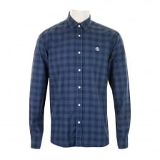 Henri Lloyd Mens Ramore Regular Check Shirt (Blue)