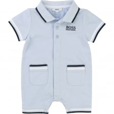 Hugo Boss Infants All-In-One Set (Blue)