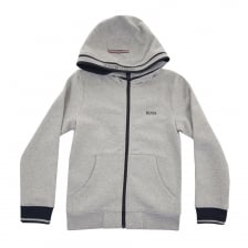 Hugo Boss Juniors Hoody (Grey)