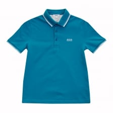 Hugo Boss Juniors Polo Shirt (Blue)