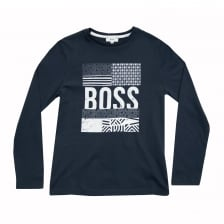 Hugo Boss Juniors T-Shirt (Blue)
