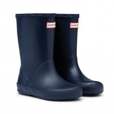 Hunter Infants Original First Classic Wellington Boots (Navy)