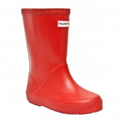 Hunter Infants Original First Classic Wellington Boots (Red)
