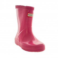 Hunter Infants Original First Gloss Wellington Boots (Pink)