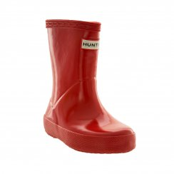 Hunter Infants Original First Gloss Wellington Boots (Red)