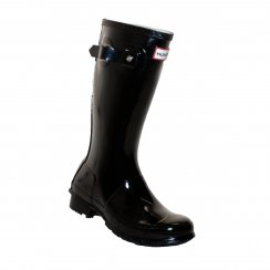 Hunter Infants Original Gloss Wellington Boots (Black)