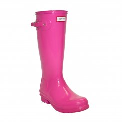 Hunter Infants Original Gloss Wellington Boots (Pink)