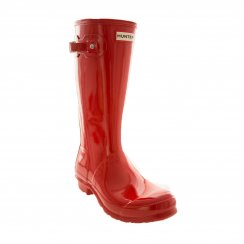 Hunter Infants Original Gloss Wellington Boots (Red)