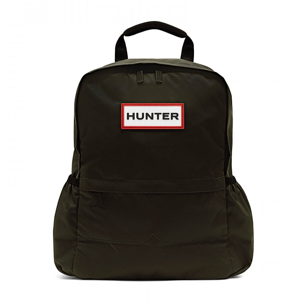 Hunter Womens Original Nylon Backpack (Olive) - Bags from Loofes UK 5be4985bf9