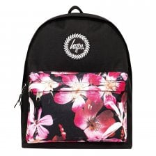 80fdf13d027b Hype Floral Pocket Backpack (Black)