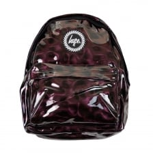 Hype Glitter Dark Plum Backpack (Plum)
