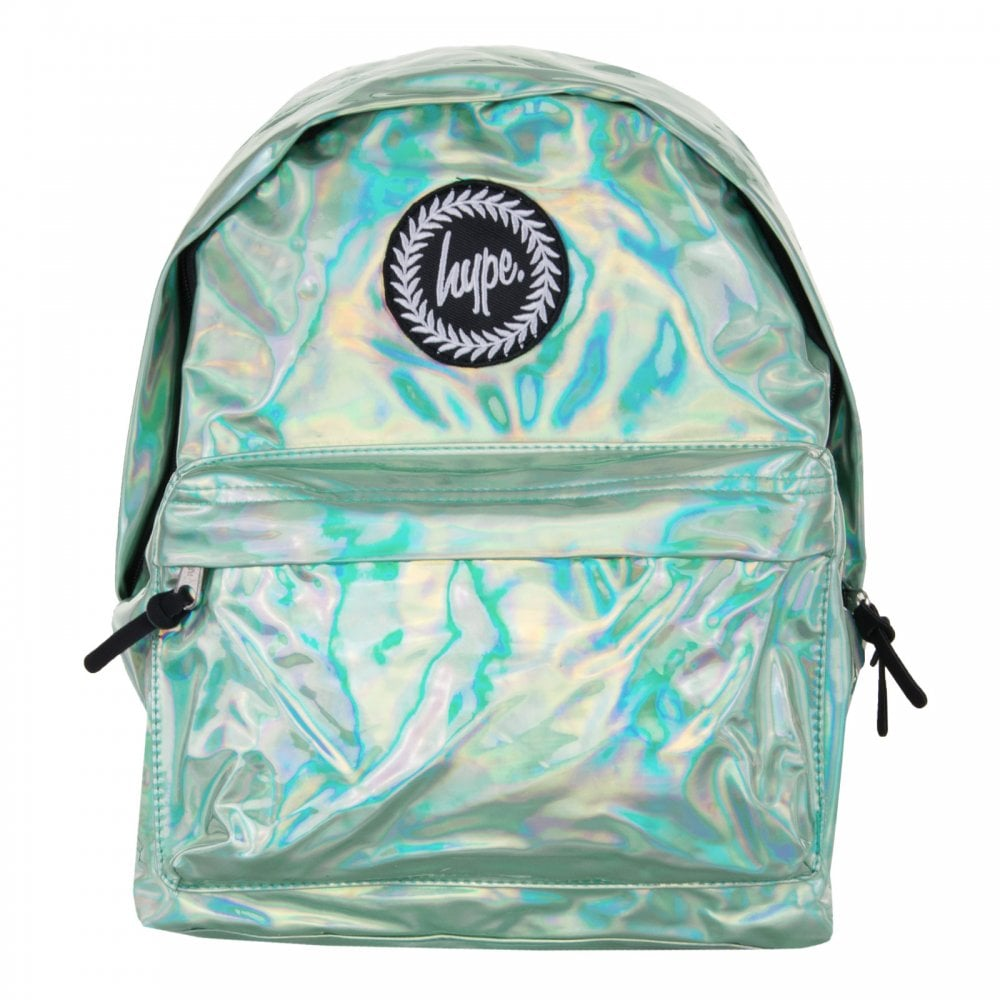20d08f1321e3 Hype Holographic Backpack (Mint) - Mens from Loofes UK