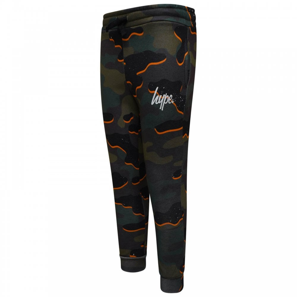 033ed846f Hype Juniors Camouflage Script Joggers (Multi) - Kids from Loofes UK