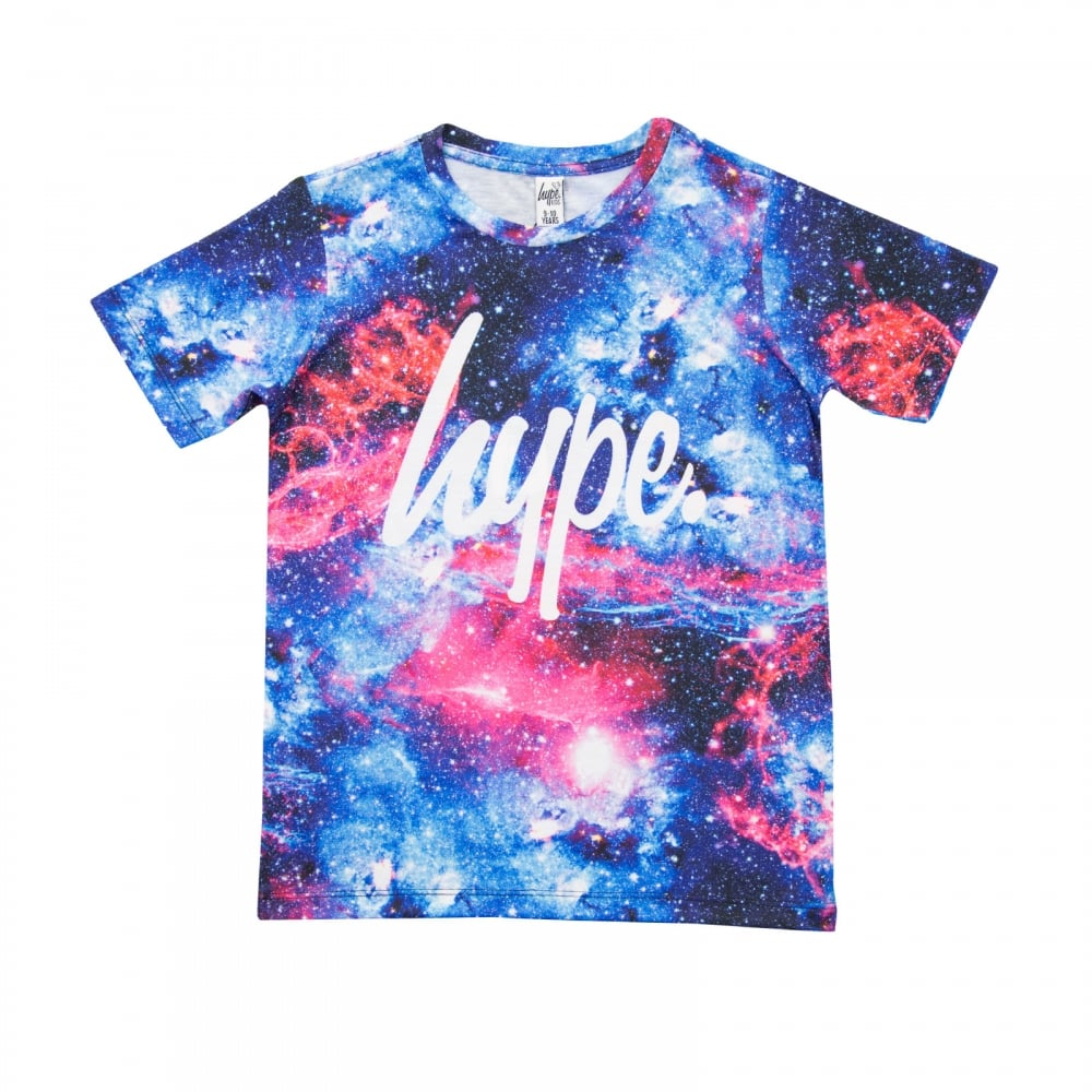 Hype juniors space t shirt multi t shirts from loofes uk for Hype t shirt kids
