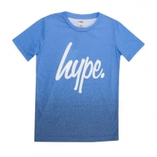 Hype Juniors Speckle Fade T-Shirt (Blue)