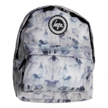 Hype Mens Liquid Mountains Backpack (Grey)