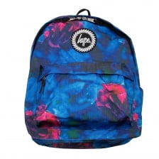 Hype Mens Midnight Rose Backpack (Blue)
