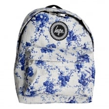 Hype Mens Real China Backpack (White)