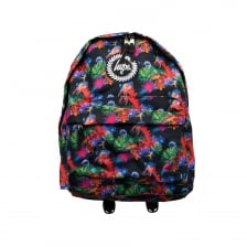 Hype Neon Reef 316 Backpack (Black/Red/Green)