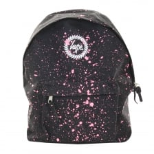 Hype Paint Splat Backpack (Black/Pink)