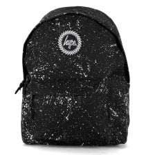 Hype Paint Splat Backpack (Black/White)