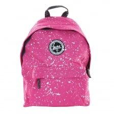 Hype Paint Splat Backpack (Pink/White)