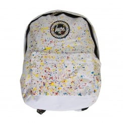 Hype Paint Splat Backpack (White)