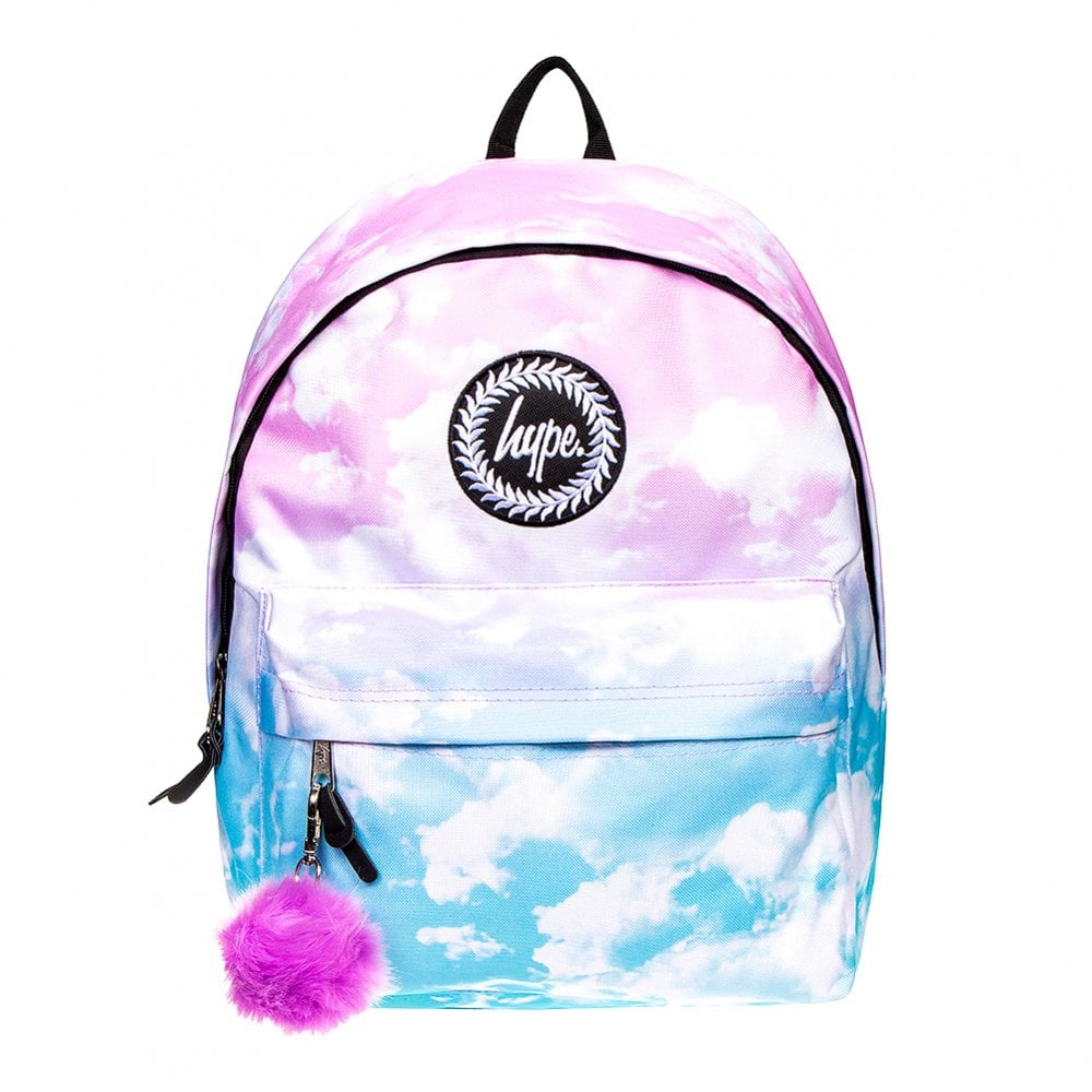 ea0fb871bdcd Hype Pastel Clouds Backpack (Pink Blue) - Mens from Loofes UK