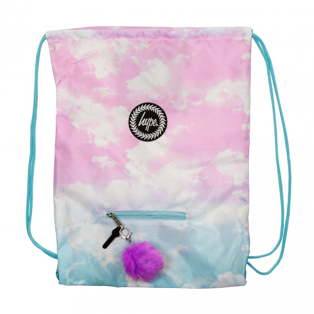 438fb61ace83 Hype Pastel Clouds Gym Bag (Pink Blue) - Mens from Loofes UK