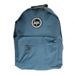 Hype Plain Backpack (Blue)