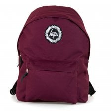 Hype Plain Backpack (Burgundy)