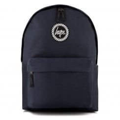 Hype Plain Backpack (Navy)