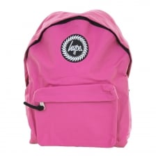 Hype Plain Backpack (Pink)