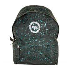 Hype Speckle Backpack (Black/Mint)
