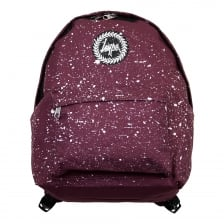 Hype Speckle Backpack (Burgundy)