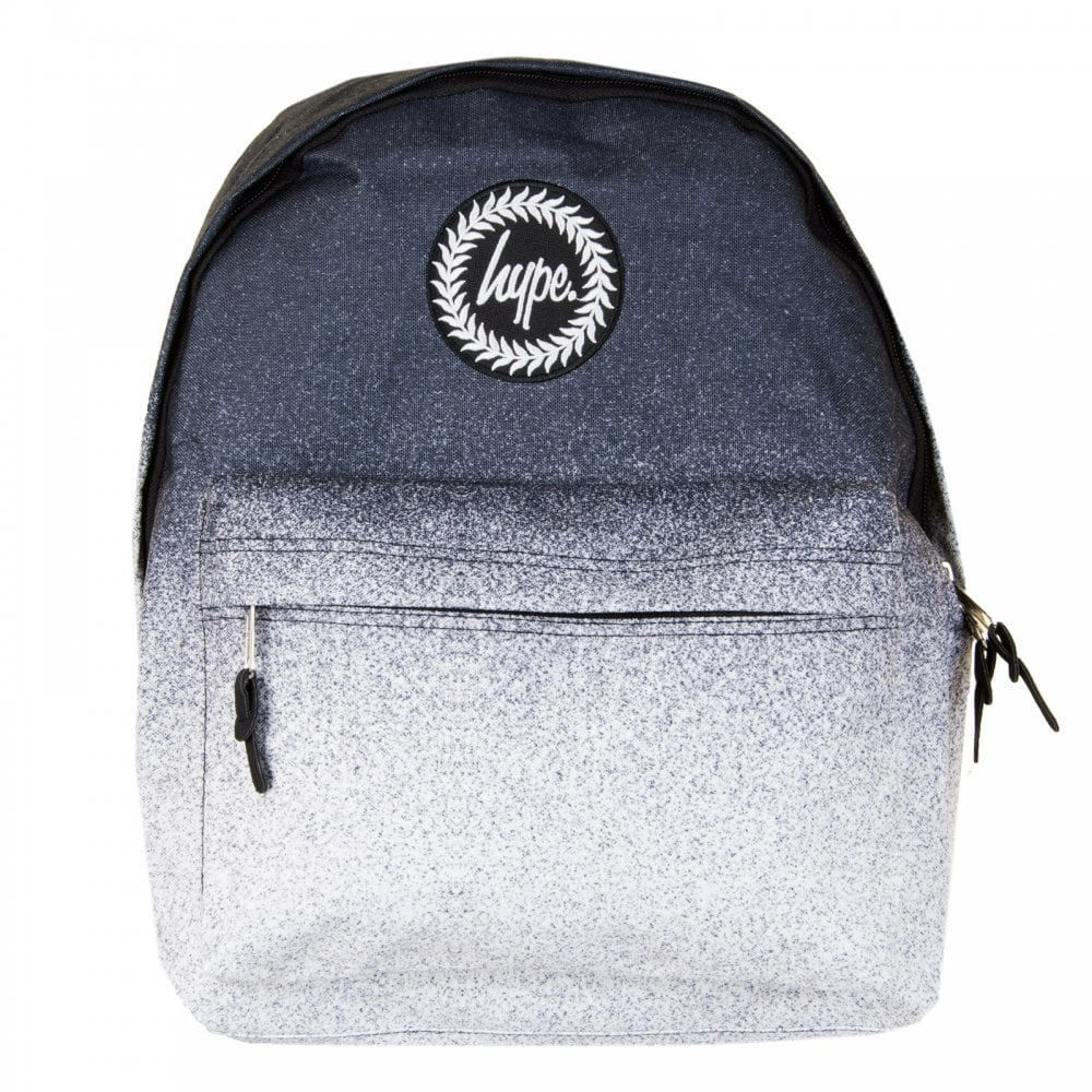 Hype Speckle Fade Backpack (Black White) - Mens from Loofes UK a6178efcfe176