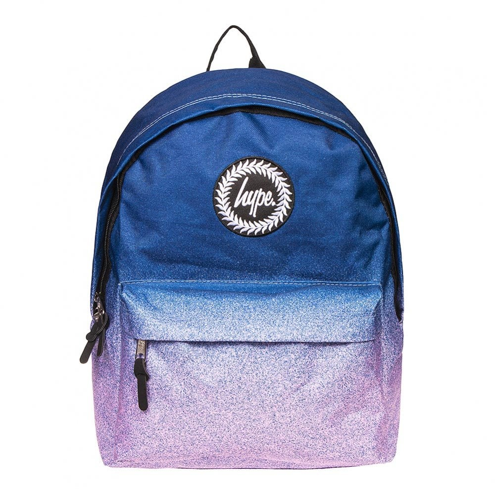 later low priced special section Hype Speckle Fade Backpack (Navy / Pink) - Kids from Loofes UK