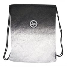 Hype Speckle Fade Gym Bag (Black/White)