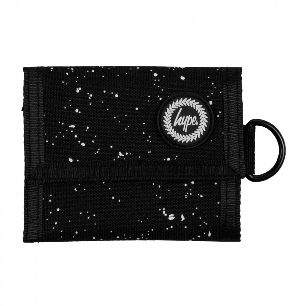 17aa14e40c11 Hype Speckle Trifold Wallet (Black) - Mens from Loofes UK
