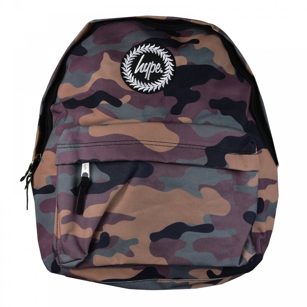b0351471d67b Hype Spring 18 Camo Backpack (Camouflage) - Mens from Loofes UK