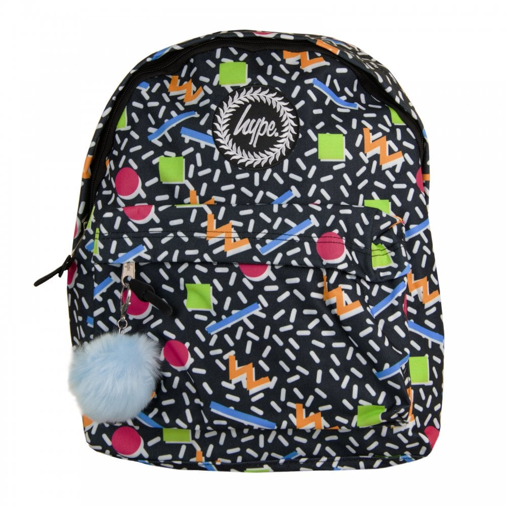 fe764984a890 Hype Xmas Nineties Geo Pom Pom Backpack (Multi) - Mens from Loofes UK