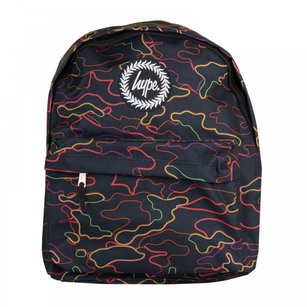 a9e936457ad8 Hype Xmas Stroke Camo Backpack (Black) - Mens from Loofes UK