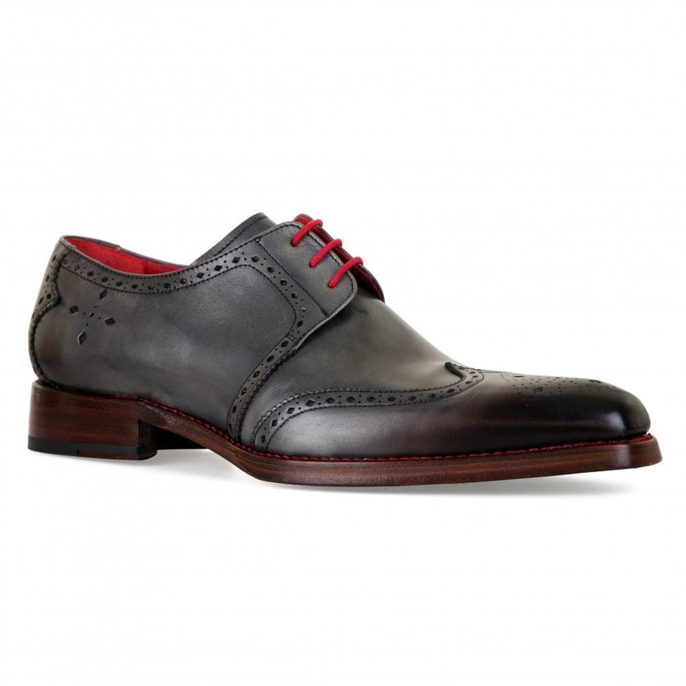 innovative design 47119 1d4b6 Jeffery West Mens Bay Dexter Shoes (Grey)