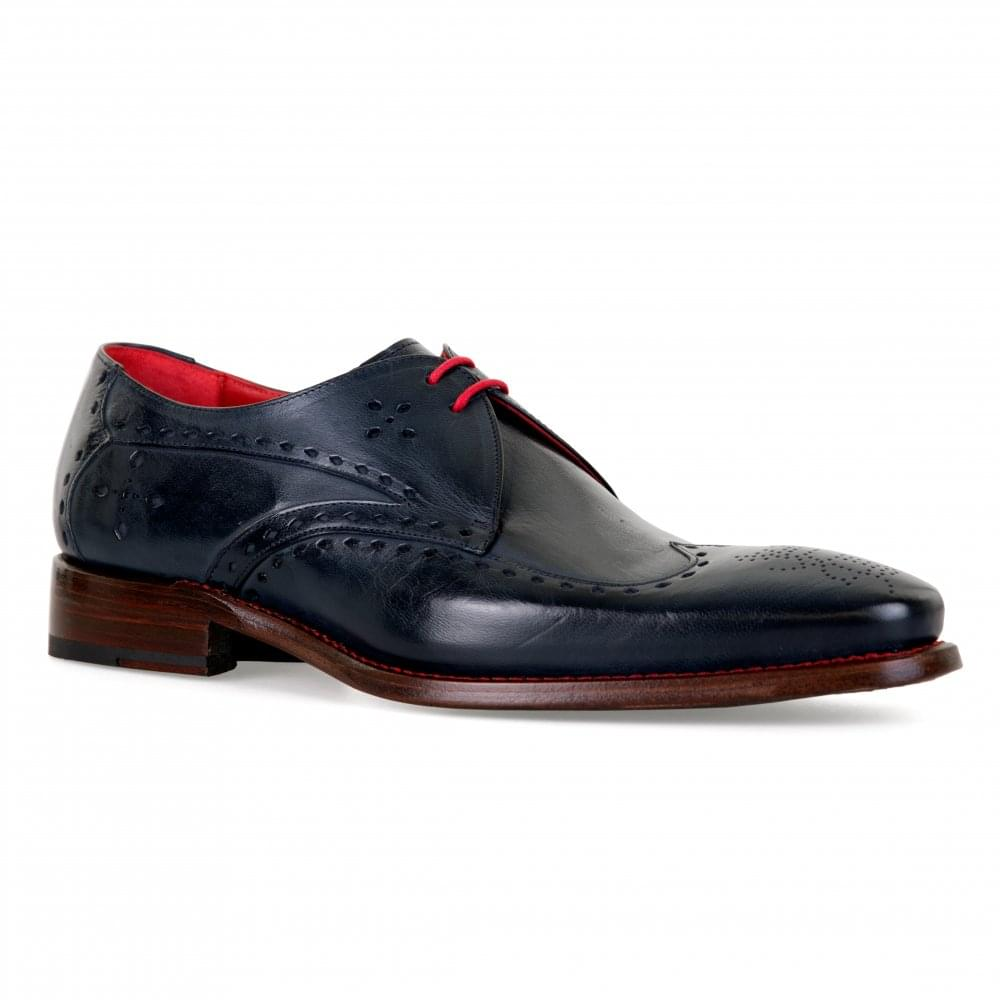 size 40 5c263 4f742 Jeffery West Mens Blaylock Hunger Shoes (Navy)