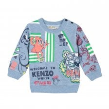 Kenzo Infants Daniel Sweatshirt 3m-18m (Blue)