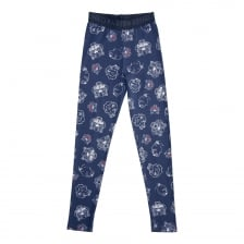 Kenzo Juniors Tiger Face Print Leggings (Navy)