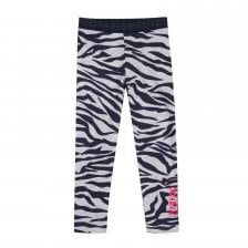 Kenzo Juniors Tiger Stripe Leggings (Grey)